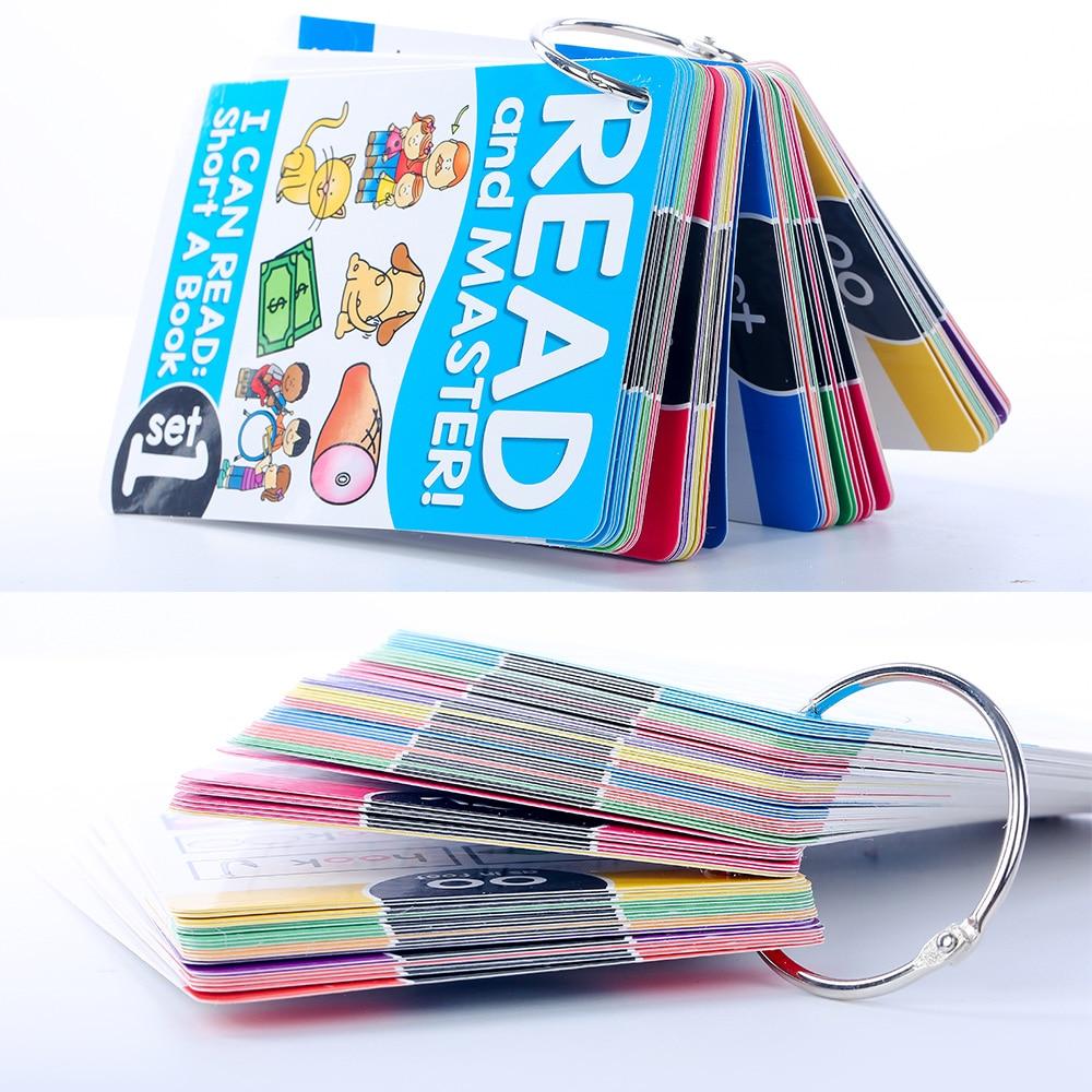 cartões flash crianças montessori aprendizagem brinquedos educativos