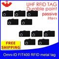 UHF RFID Метка omni-ID  подходит для 400 915m 868 МГц Alien Higgs3 EPC 20 шт.  прочная краска  очень маленькие пассивные RFID метки
