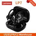 Original Lenovo LP7 TWS Bluetooth 5,0 Ohrhörer Wahre Drahtlose Kopfhörer mit Dual Mic Kopfhörer Sport Headset Lade Box