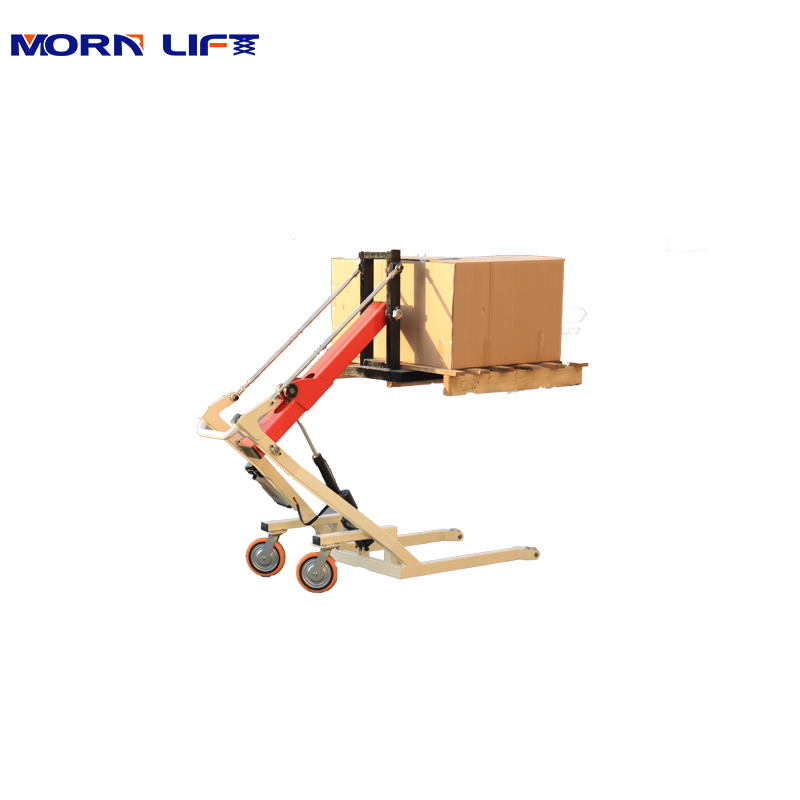500kg Electric Stacker Truck Pallet ...