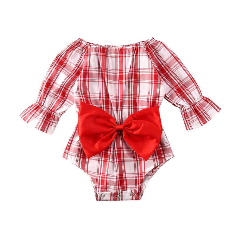 الوليد الرضع طفلة تحقق عيد الميلاد الملابس رومبير ارتداءها الزي 0-24 متر نسيج القطن DIY بها بنفسك النسيج