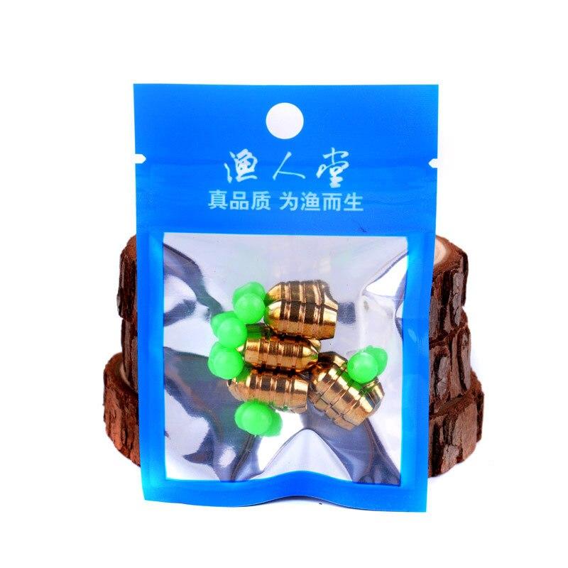 Wholesale Lure Counter Weight Bullet Copper Dezhou City Fishing Groups Night Light Dang Zhu Crank Hook Soft Bait Inverted Sinker