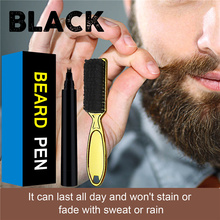 Barber-Pencil Male with Brush Salon Facial Hair-Engraving Styling Eyebrow-Tool Mustache