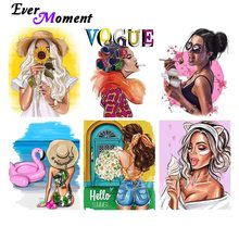 Canvas Painting Diamond Mosaic Ever Moment Adults Picture Art-Decoration Hobby Girl Fashion