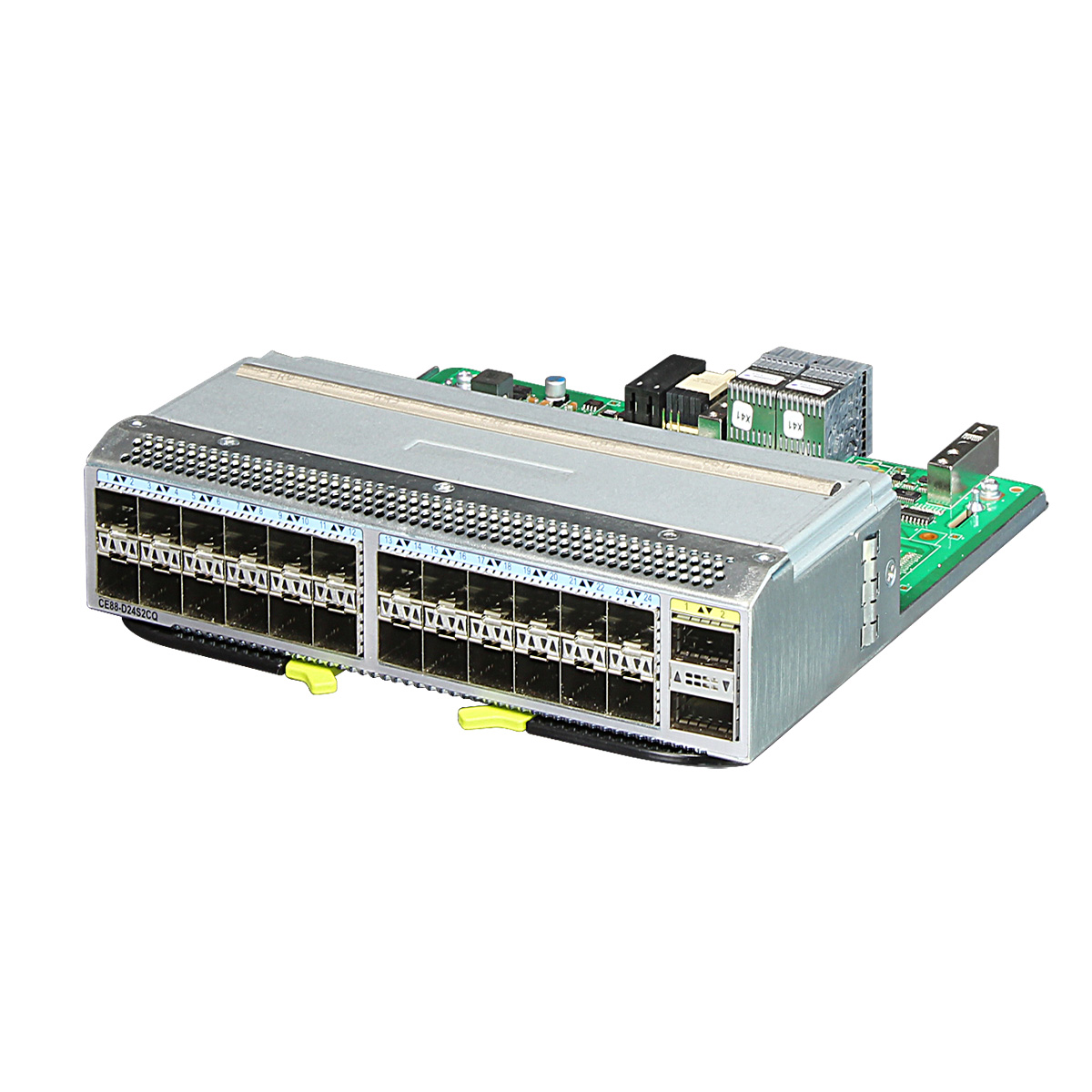 CE88-D24S2CQ 24-Port 10GE/25GE (SFP28) and 2-Port 40GE/100GE (QSFP28) Interface Network Card 1