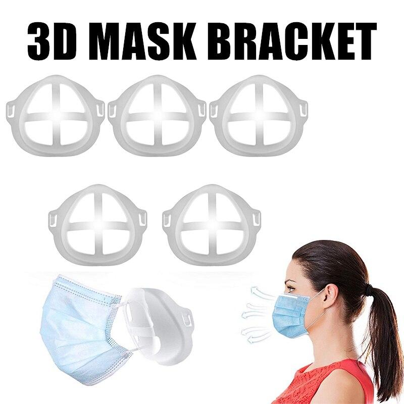 Plastic kapje voor achter mondkapje