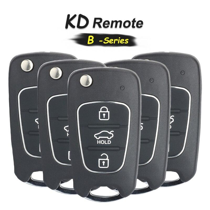 Универсальный пульт дистанционного управления KEYECU 5x B-Series B04 с 3 кнопками для KD900 KD900 +, пульт дистанционного управления KEYDIY для B04