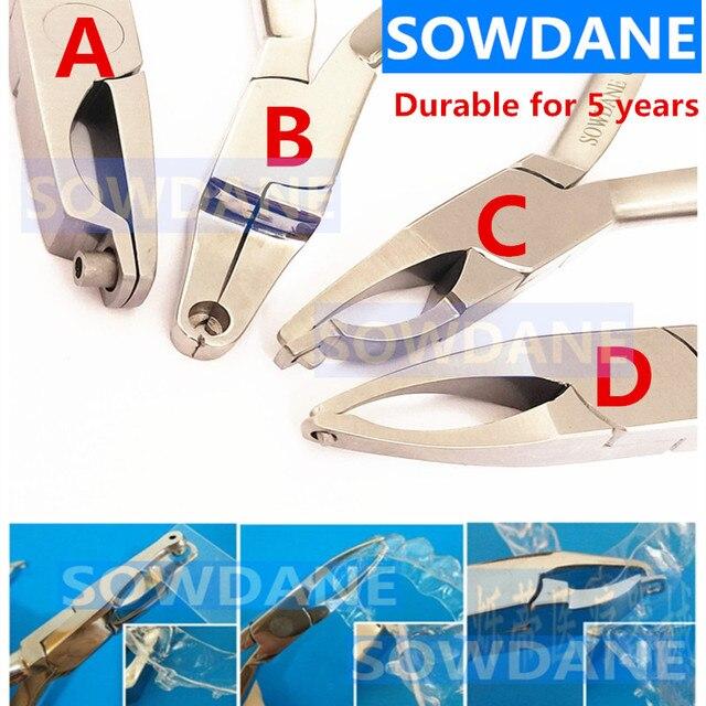 Tandheelkundige Orthodontische Brace Invisalign Tang Cilinder Vormen Undercut Vormen Tang Laboratorium Tool Instrument