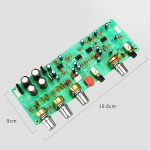 Image 3 - SOTAMIA Amplificador de tono, preamplificador de placa de Control de tonos 4558 Op Amp, ajuste de equilibrio de graves agudos, preamplificador de Control de volumen, reducción de ruido