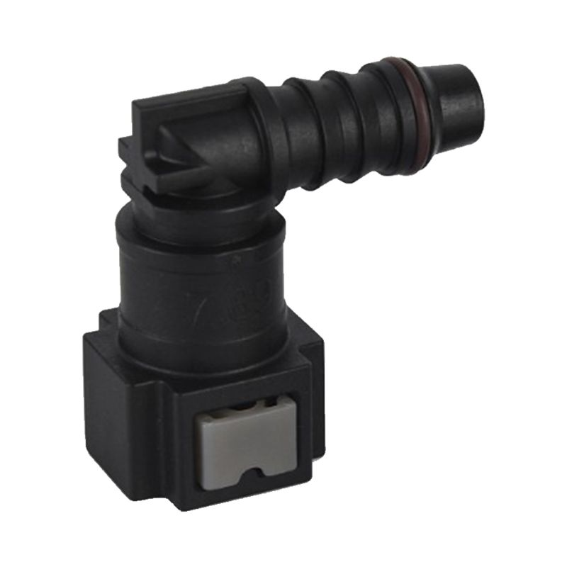 New Fuel Line Quick Release Connect Connector Motorcycle Hose Coupler ID6 Female 7.89mm Elbow Fuel Line Quick Connector