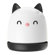 Portable Mini Cute Cat Desk Vacuum Cleaner for Desktop Keyboard Cleaner Computer Brush Dust Collect(China)