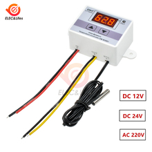 220V W3001 XH-W3001 Digital Thermostat for incubator Temperature Controller 110V-220V 10A Thermoregulator temperature tester 12V
