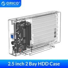 ORICO – boîtier pour disque dur SATA vers USB 2.5 de 3.0 pouces, adaptateur pour SSD, 5 Gbps, haute vitesse