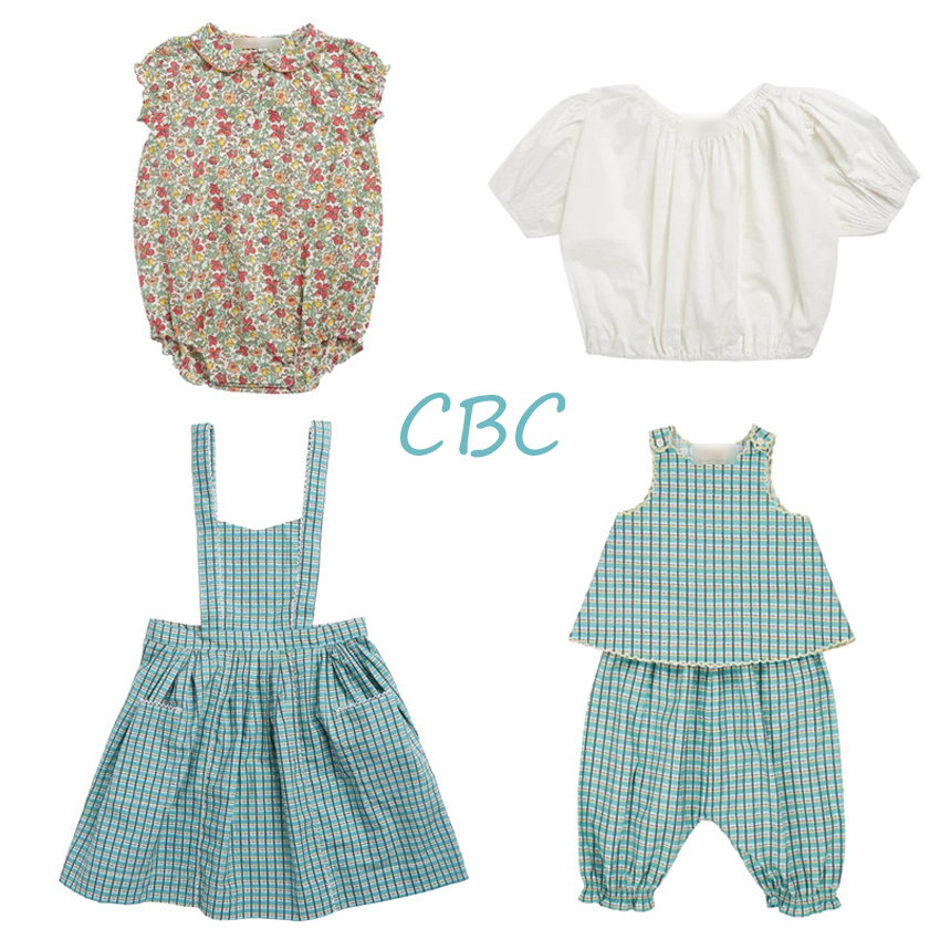 ZMHYAOKE-CBC Girls Outfits Thanksgiving Toddler Girl Clothes My First Christmas Boy Clothes Girls SUMMER Beach Outfits Kids Sets