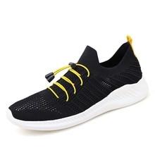Мужчины кроссовки летние свободного покроя дышащий нескользящая обувь сетка мягкая удобная теннисная обувь 2020