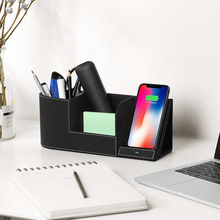 Wireless Charger Desk Organizer Fast Charging Station for IP