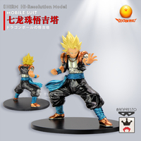 Japanese Anime 1/100 Dragon BallGogeta 25cm PVC Metal Colored Assembly Model Action Toy Figures Christmas Gift