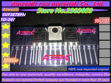Aoweziic 2019 + 100% 신규 수입 원본 svf3878pn 3878 to 247 mosfet 9a 900 v 용접기