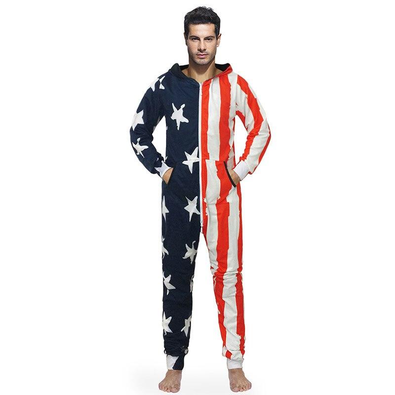 Домашняя одежда осень и зима новый стиль пальто с капюшоном звезда полосы печатных пар осень зима пижамы