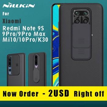 NILLKIN for Xiaomi Redmi Note 9S 9 Pro Max Mi 10 Pro Redmi K30 5G Back cover case CamShield Camera Protection Bumper case cover