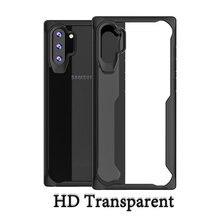 For Samsung Galaxy Note 10 Plus Pro Phone Case Cover Original Clear Silicone TPU Transparent Case for Samsung Galaxy Note 10 +