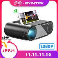 BYINTEK SKY K9 720P 1080P LED Portable Home Theater HD Mini Projector (Option Multi-Screen For Iphone Ipad Smart Phone Tablet)