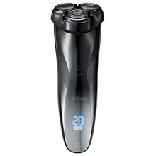 ENCHEN BlackStone3 חשמלי תער גילוח 3D חכם תער גילוח USB טעינה IPX7 עמיד למים 3 ראש LCD תצוגה עבור גברים זכר