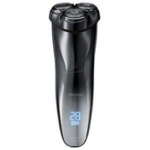 Image 1 - ENCHEN BlackStone3 Elektrische Rasierer rasierer 3D Smart Rasierer rasierer USB Lade IPX7 Wasserdicht 3 Kopf LCD Display für Männer Männlich