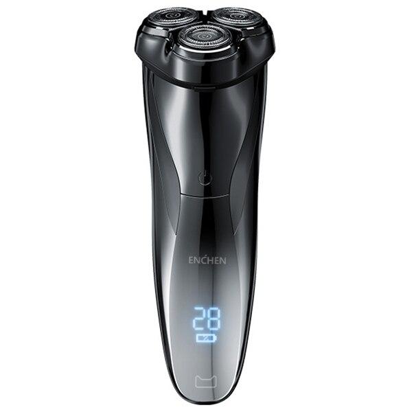 ENCHEN BlackStone3 Elektrische Rasierer rasierer 3D Smart Rasierer rasierer USB Lade IPX7 Wasserdicht 3 Kopf LCD Display für Männer Männlich