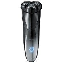 ENCHEN BlackStone3 Lược Điện Máy Cạo Râu 3D Thông Minh Dao Cạo Cạo Râu Sạc USB IPX7 Chống Nước 3 Đầu Màn Hình Hiển Thị LCD Dành Cho Nam Nam