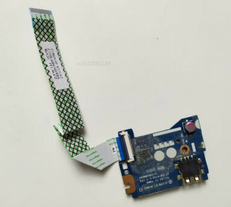 Free Shipping Original For Acer Aspire ES1-511 ES1-521 LS-B471P Usb Power Switch Button Board