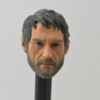 1/6 Scale The Last of US Joe Joel Head Sculpt For 12 Inches Hot Toys Action Figure Body DIY Accessories