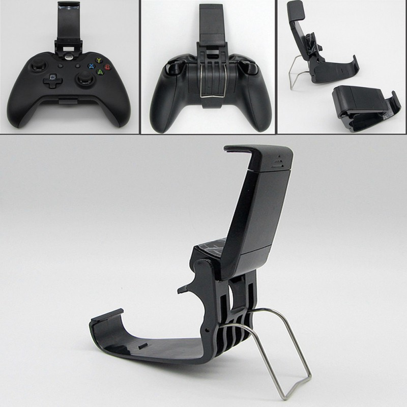 Universal Phone Mount Bracket Gamepad Controller Clip Stand Holder For Xbox One Game Handle Phone Mount HandGrip Stand Clip Hold