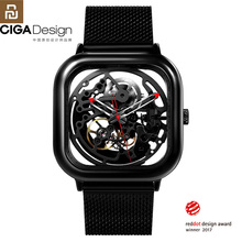 Youpin CIGA Watch Hollowed out Mechanical Wristwatches Watch Reddot Winner Stainless Fashion Luxury Automatic Watches H27