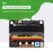 Nowa karta rozszerzenia micro bit/microbit v2 obsługuje wprowadzenie do programowania Scratch Python i moduł czujnika 3-5V