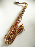 Tenor Saxophone Bb model Sax golden tenor Saxopfone musical instruments Perfect packaging Gift way shipment and case