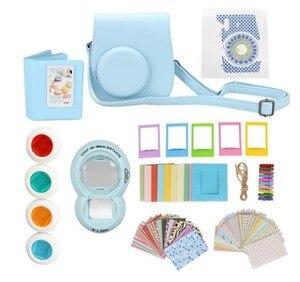Image 1 - 9 in 1 Instant Film Camera Album Bundles Kit Camera Case Bag for Fujifilm Instax Mini 8 Camera Accessory Decor Sticker
