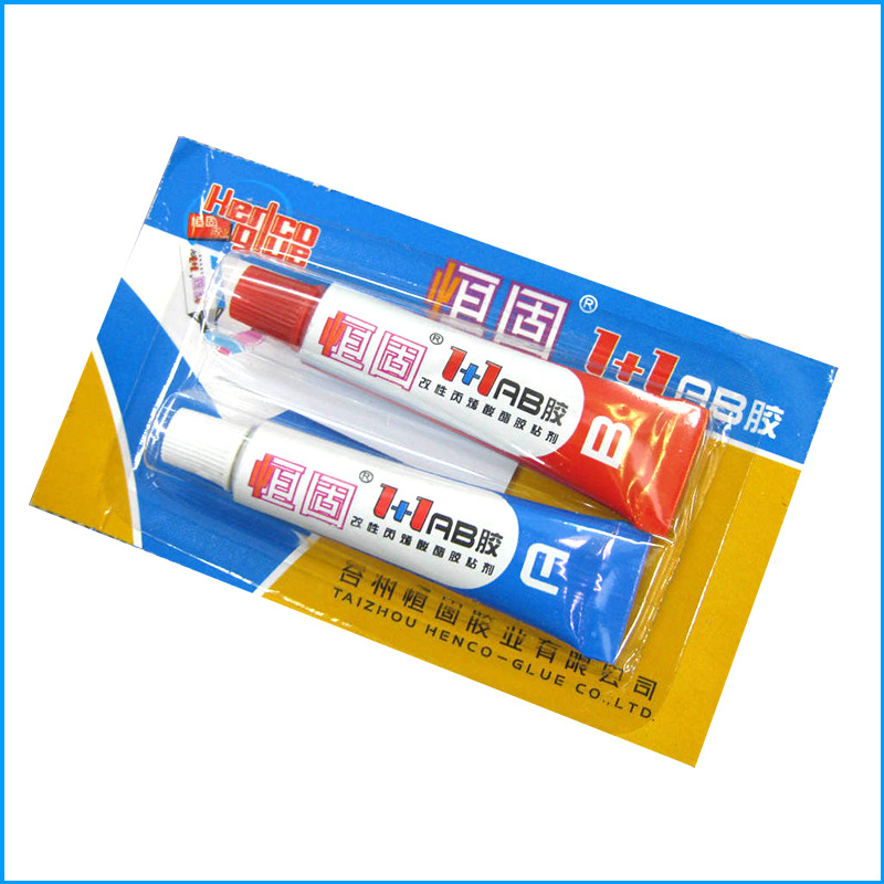 Multi-purpose Strong Adhesive A B Epoxy Resin Glue For Plastic Metal Ceramic
