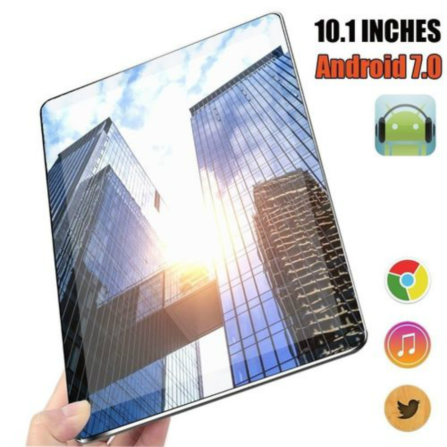 2020 New WiFi Android Tablet 10 Inch Ten Core 4G Network Android 7.1 Buletooth Call Phone Tablet Gifts(RAM 6G+ROM 16G/64G/128G)