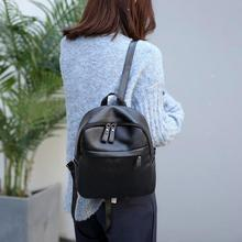цена на Fashion New Multifunction Women Backpack Pu Leather Travel Bag Backpack Famous Brand Backpack Travel Shoulder Bag With Handle