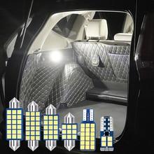 10x Error Free Auto LED Bulbs Car Interior Dome  Reading Lamps Trunk Lights For kia K5 Optima 2011 2012 2013 2014 2015 2016 2017 carbon fiber add on car mirror covers caps shell for kia optima k5 2011 2012 2013 2014 2015