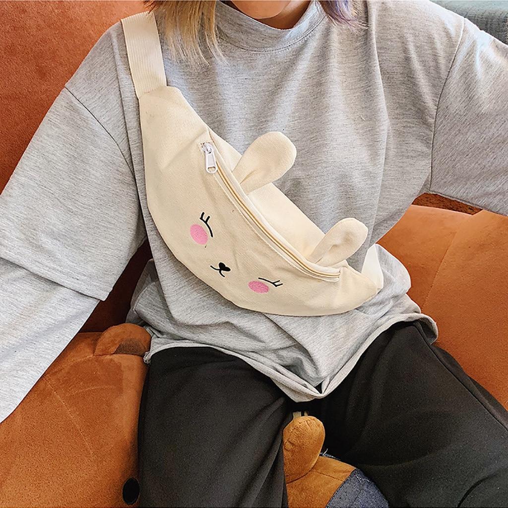 Fanny Pack For Children Fashion Joker Crossbody Chest Pocket Shoulder Heuptas Dames Bolsa Cintura Feminina Bolsa Cintura 2019