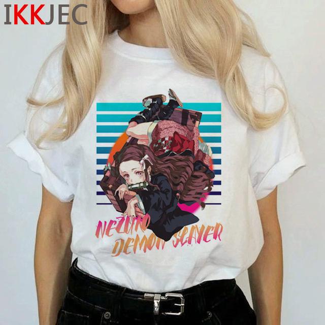 Demon Slayer Kimetsu No Yaiba Women T-shirt