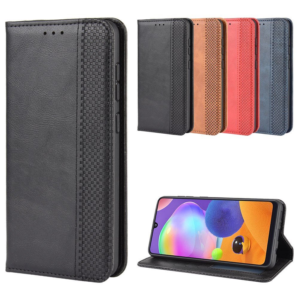 Anti-knock <font><b>Stand</b></font> <font><b>Wallet</b></font> Bag for <font><b>Samsung</b></font> <font><b>Galaxy</b></font> A31 A21 A51 A71 A81 A91 A10 <font><b>A50</b></font> S20 S10 M31 Drop Protection <font><b>Flip</b></font> <font><b>Leather</b></font> <font><b>Case</b></font> image