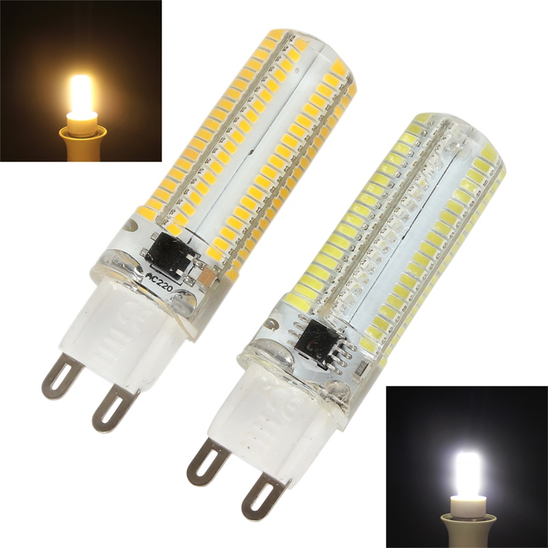 1x G9 64//72//104//152 3014 SMD LED Light Corn Bulb Silicone Lamp Warm //Cool White