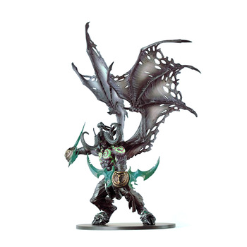 WOW 20CM 13 Inch Toys World Of Warcraft Game Action Figure Demon Hunter Illidan Devil DC05 Figma Collectible Model PVC Toy 1