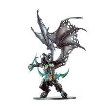 Wow 20cm 13 Polegada brinquedos world of warcraft jogo figura de ação demônio caçador illidan diabo dc05 figma collectible modelo pvc brinquedo
