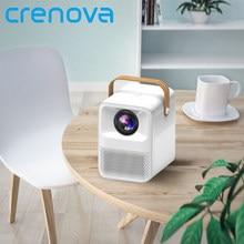 CRENOVA projecteur Portable Full HD Android WIFI 1920x1080P MINI projecteur pour Home Cinema LED vidéoprojecteur 4k ET30 natif
