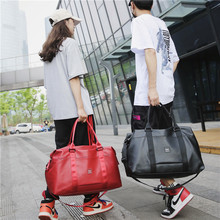 New Korean fashion men and women portable short-distance large-capacity travel bag sports fitness training luggage