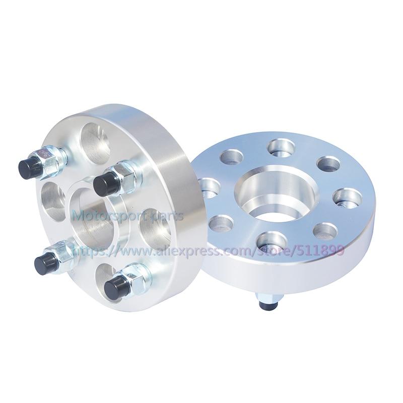 2 шт 25 мм PCD 4x100-57.1 мм шиномонтажная Расширенная прокладка для автомобильных ступиц колеса для Jetta Santana